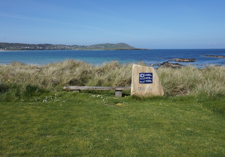 Narin & Portnoo Golf Club - 10th hole sign