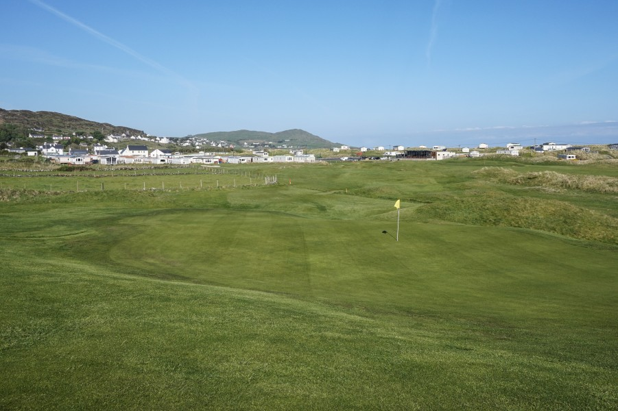Narin & Portnoo Golf Club - 1st hole