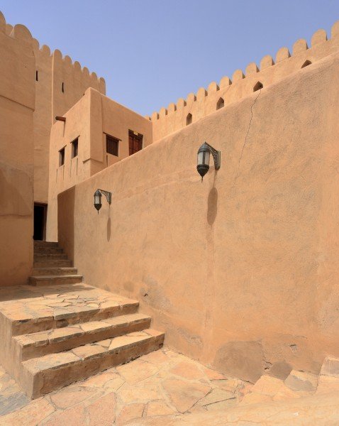 Nizwa Fort Detail