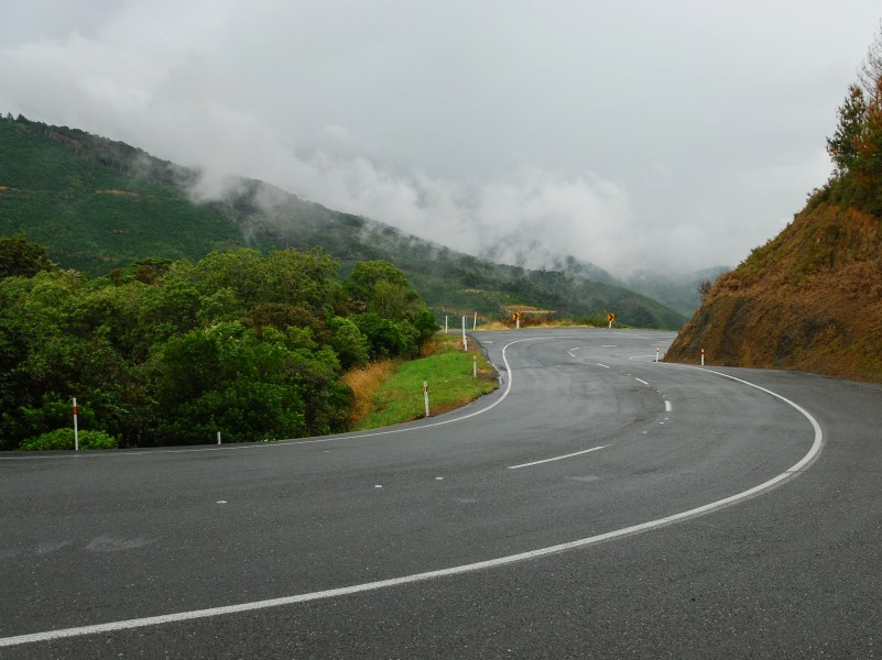 NZ State Highway 6 near Hira, Nelson 20100122 1