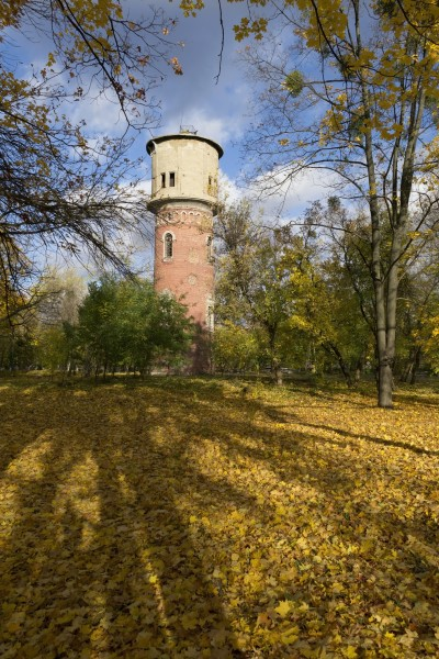 Old water tower in New Bavaria (autumn 2017) 2