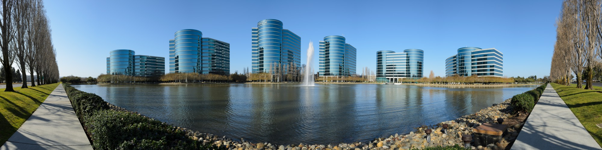 Oracle Redwood City February 2013 panorama