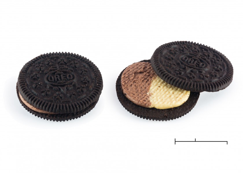 Peanut butter and chocolate oreos, 2015-06-06