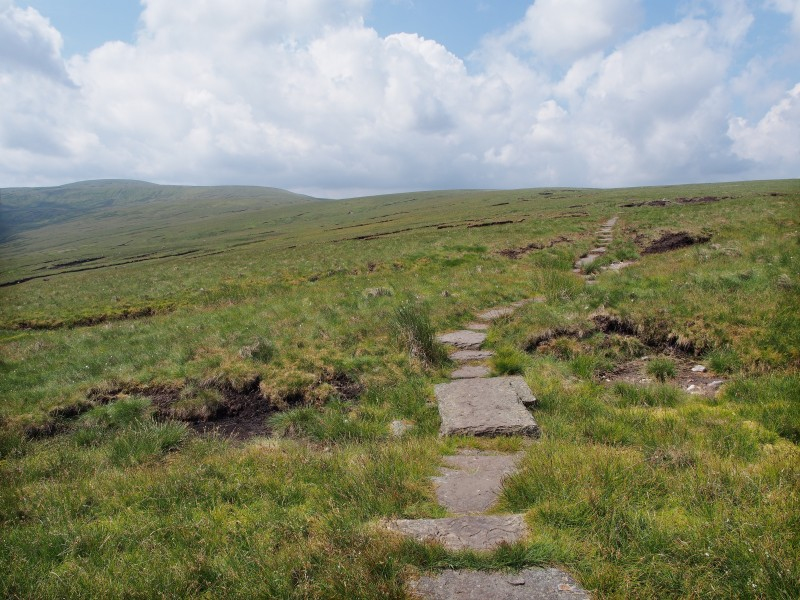 Pennine Way Great Shunner Fell North