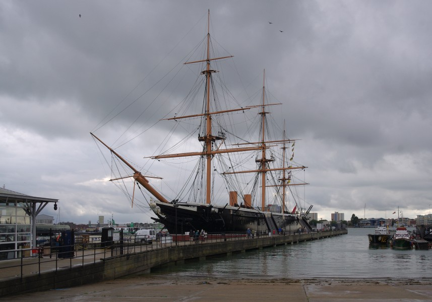 Portsmouth MMB 45 Royal Naval Dockyard - HMS Warrior