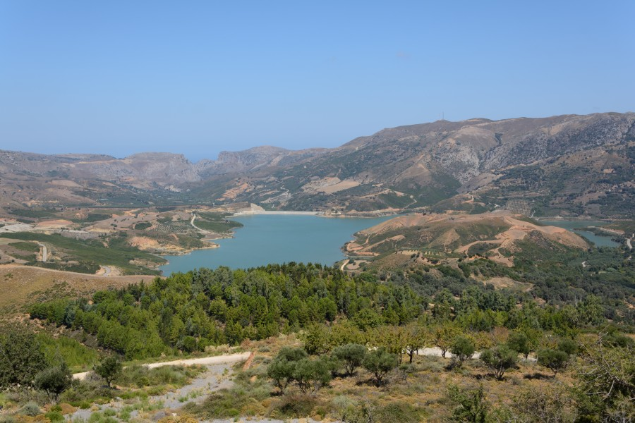 Potami Dam Reservoir 20150829