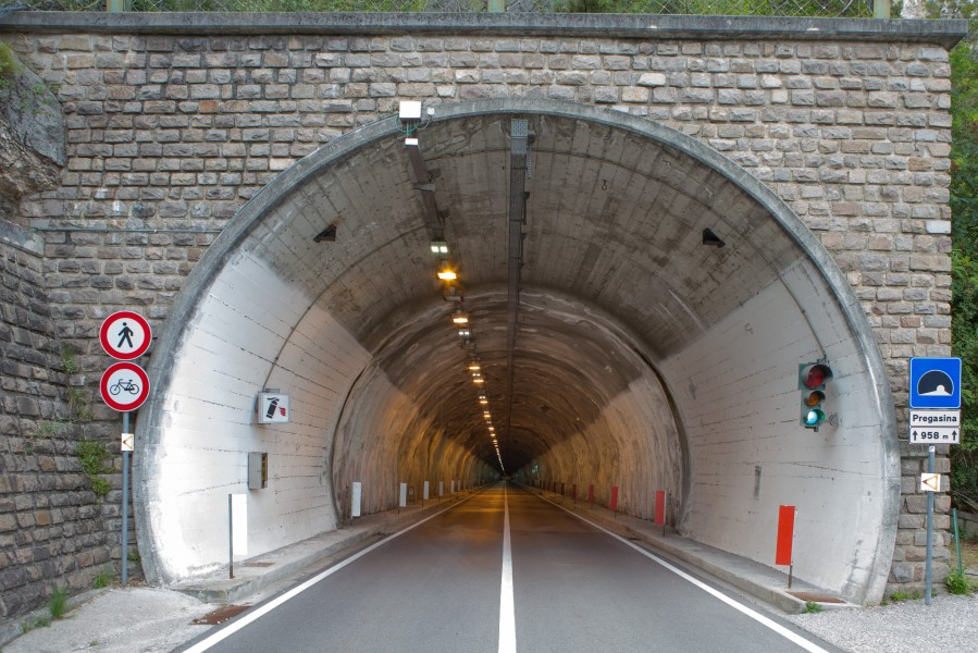 Pregasina tunnel east entrance, Pregasina, Trient, Italy