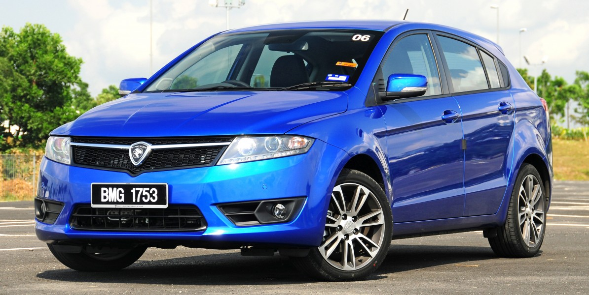 Proton Suprima S Front Three Quarter Facing Left