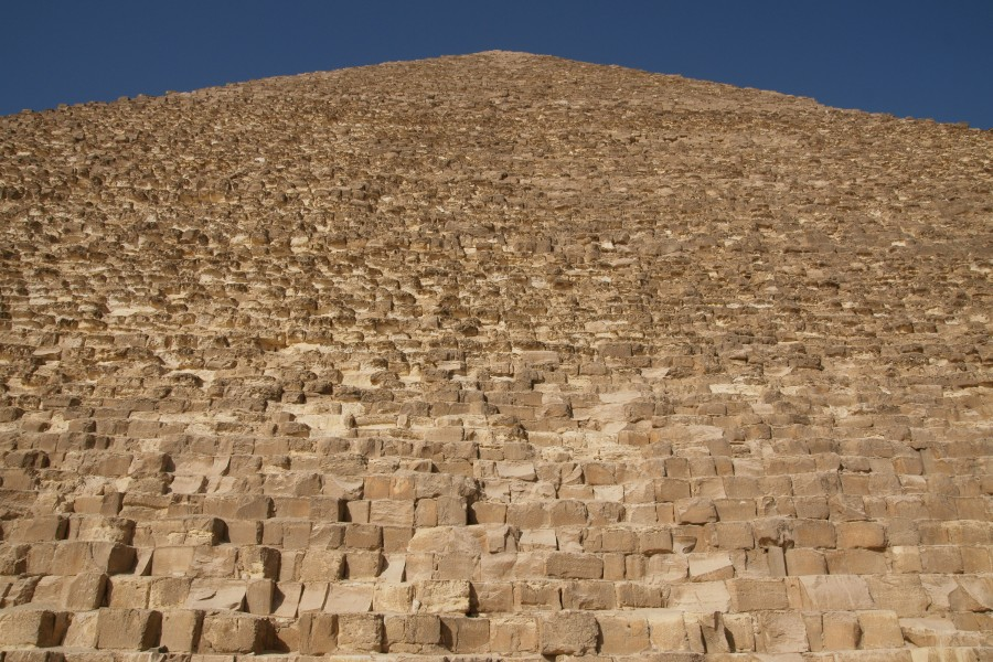 Pyramid of Cheops - side
