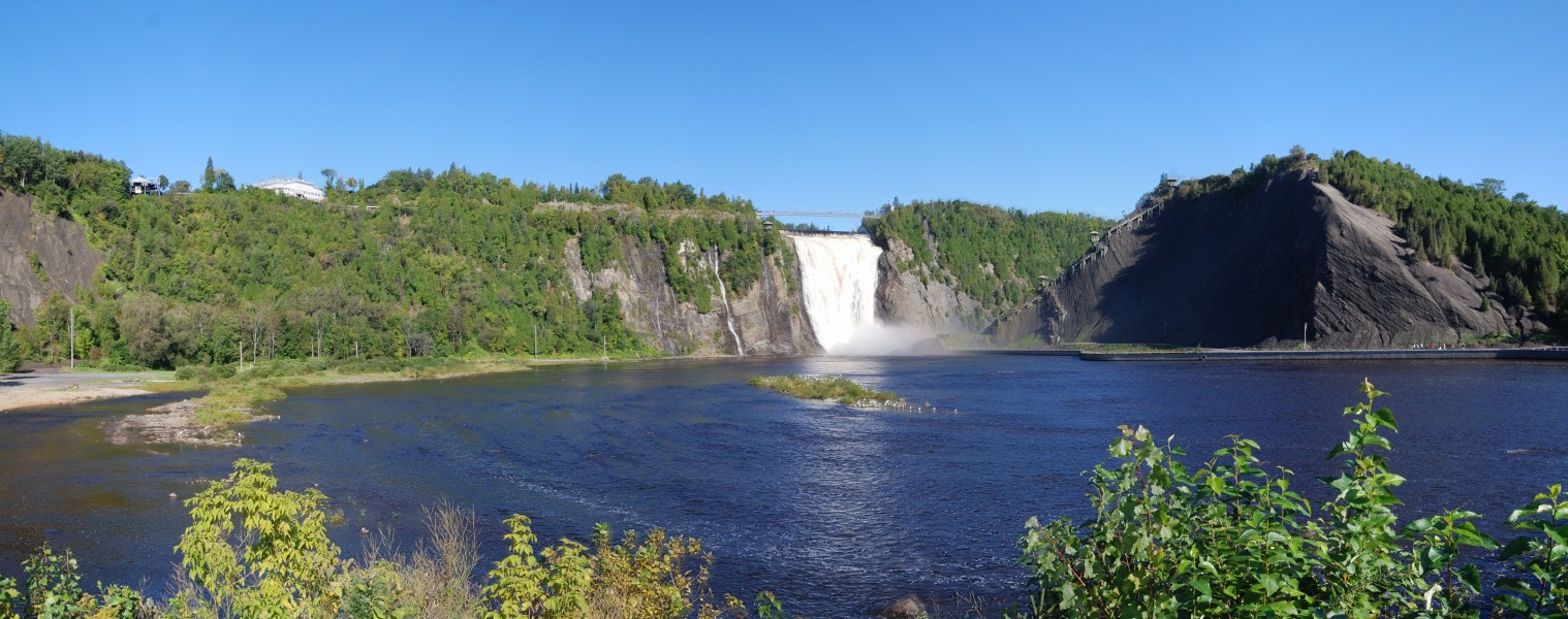QC - Montmorency-Fall Pano