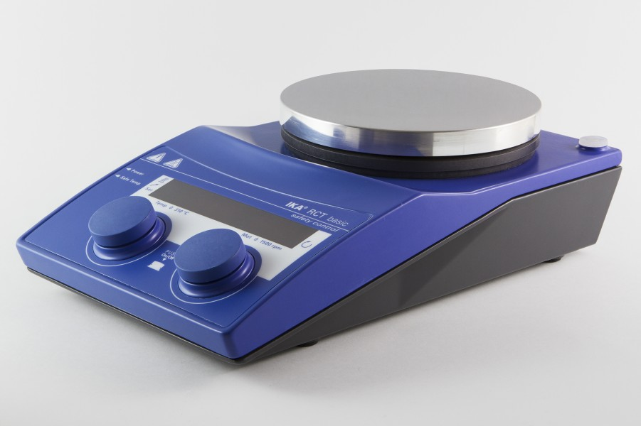 RCT basic IKAMAG® safety control magnetic stirrer