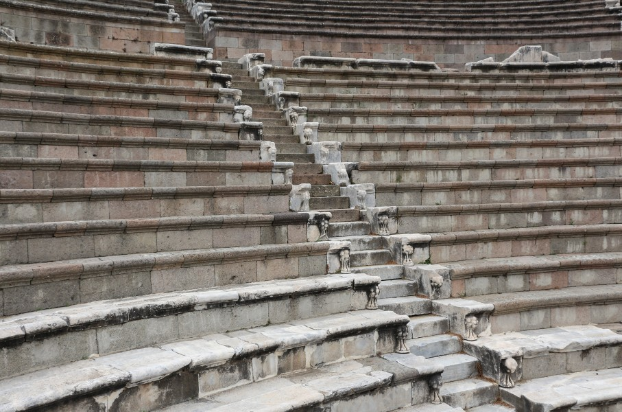 Roman theatre at Pergamon Asclepium 05