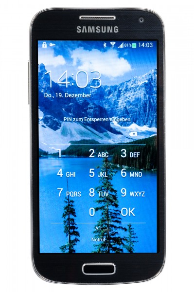 Samsung Galaxy S4 mini Frontside