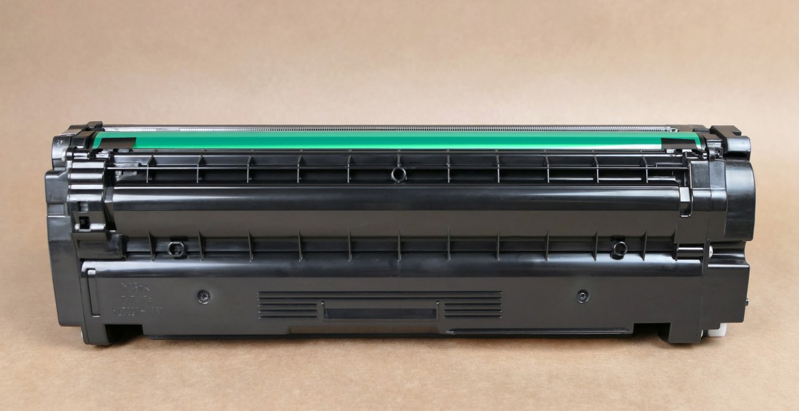 Samsung laser toner cartridge front view