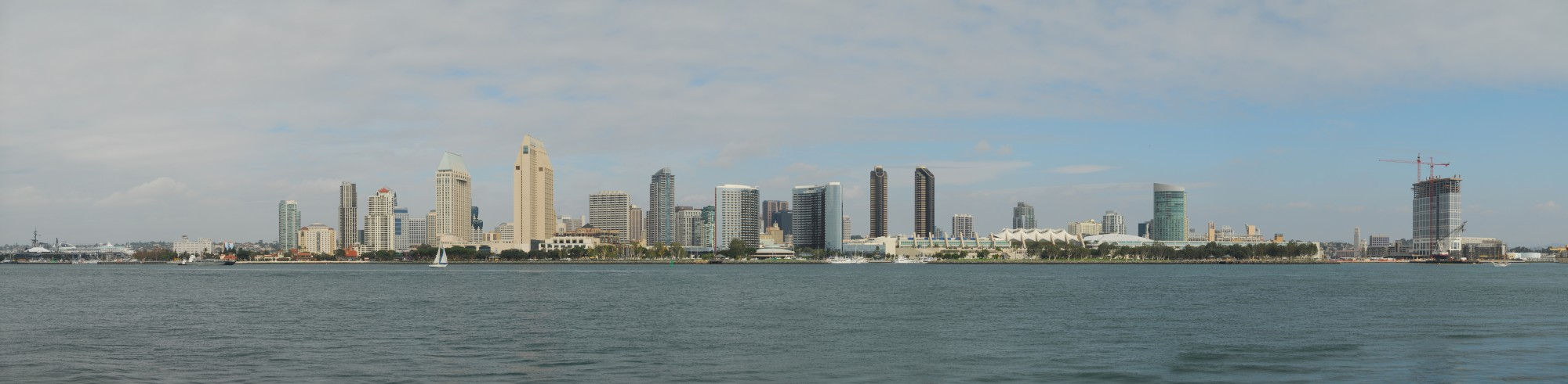San Diego Skyline Day JD111107