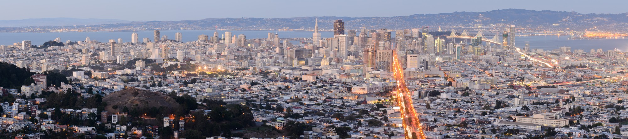 San Francisco from Twin Peaks September 2013 panorama 4