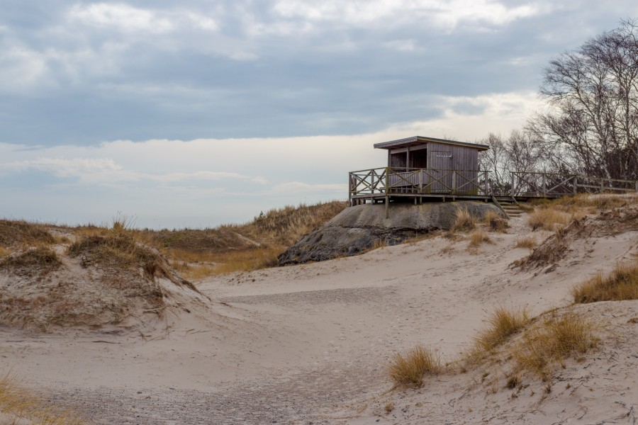 Sandhammaren observation tower 2015-03-29