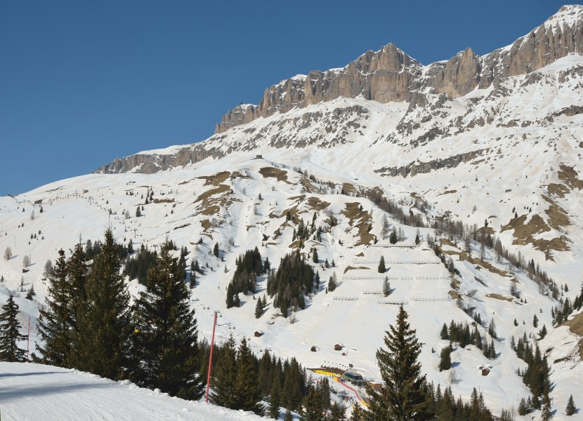 Sella and chairlift Fodom