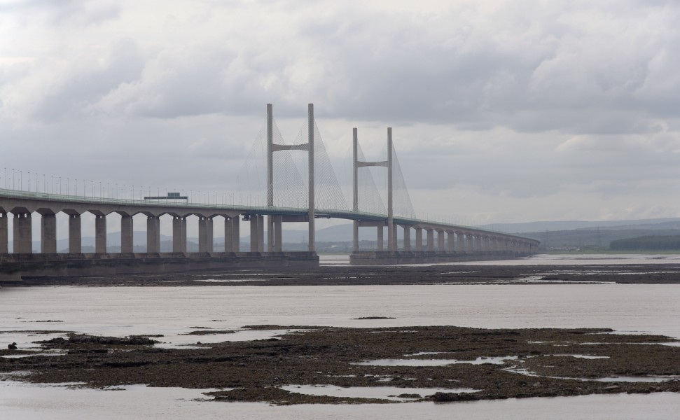 Severn Beach MMB 31 Second Severn Crossing
