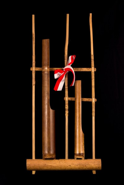 Single note angklung ('G'), 2015-05-21