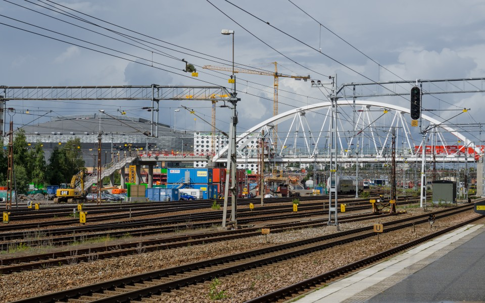 Solna station August 2012