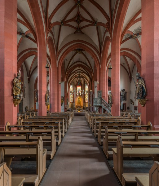 St. Andreas, Karlstadt, Nave 20160727 1