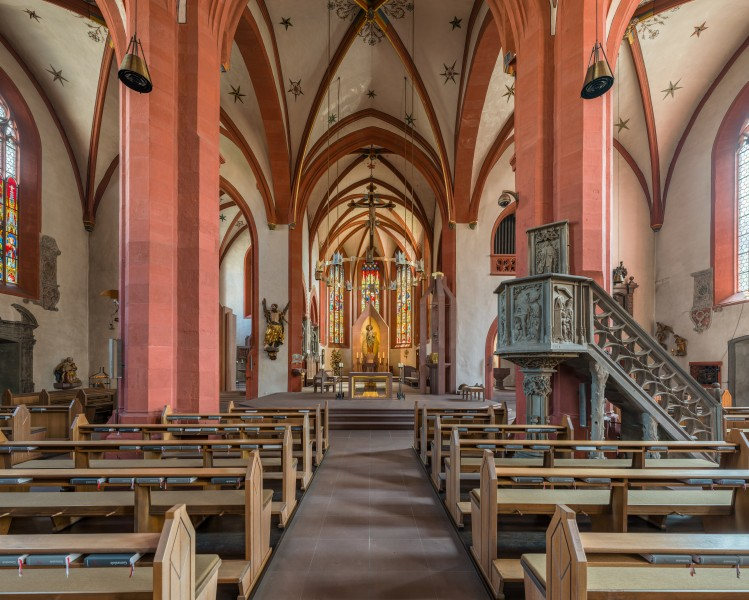 St. Andreas, Karlstadt, Nave 20160727 2