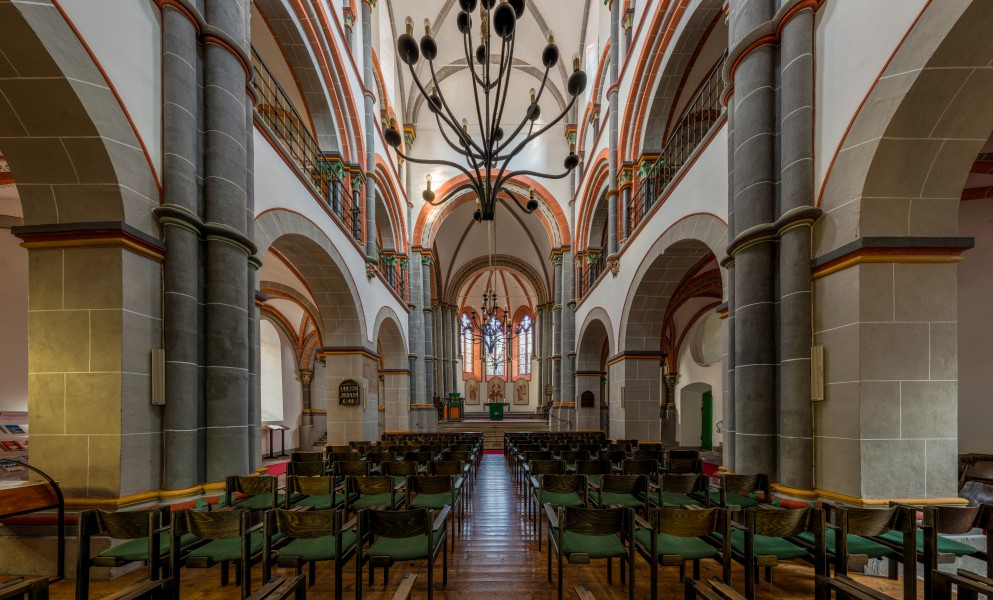 St. Peter, Bacharach, Nave 20141015 1