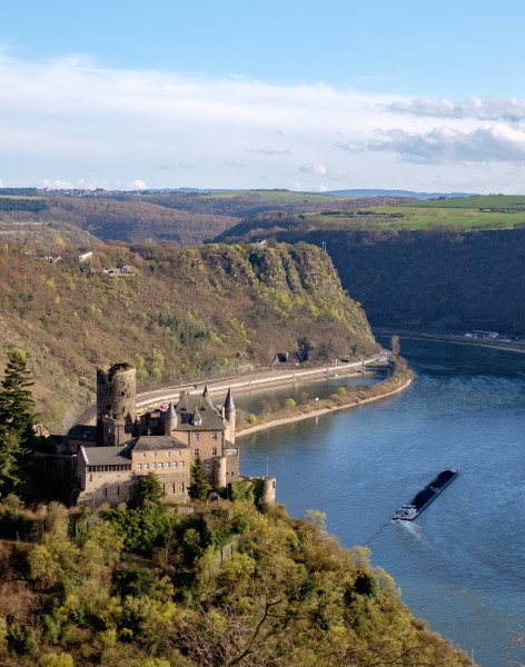 St.Goarshausen Loreley Burg Katz 2016-03-27-17-08-51
