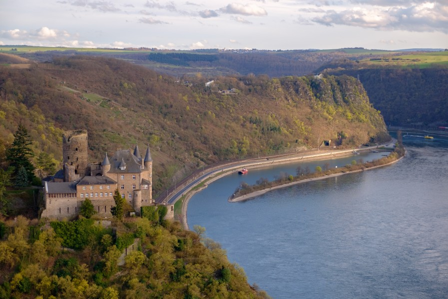 St.Goarshausen Loreley Burg Katz 2016-03-27-18-25-21