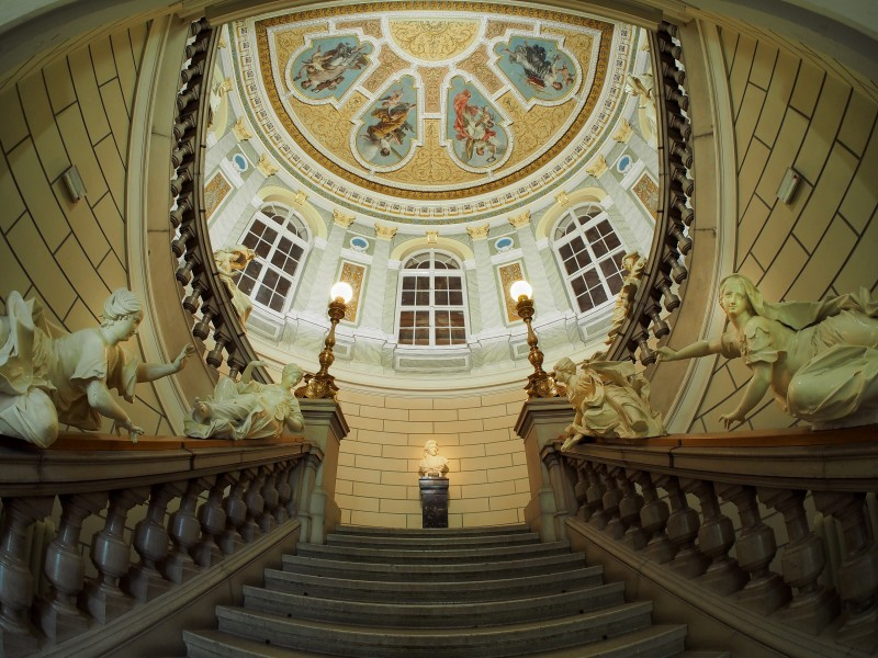 Staircase of the National Museum of Slovenia
