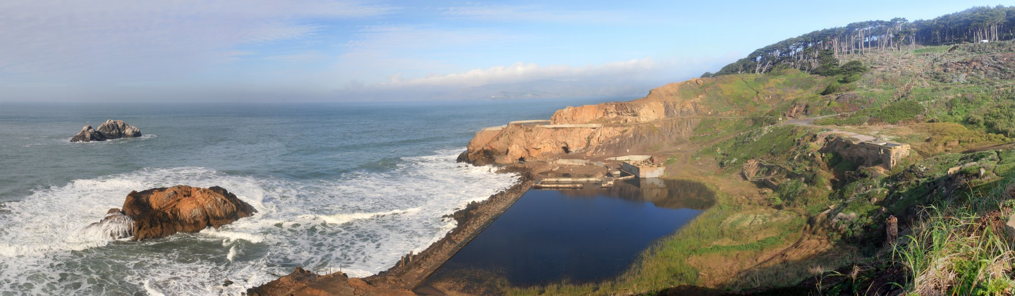 Sutro Baths and Seal Rocks