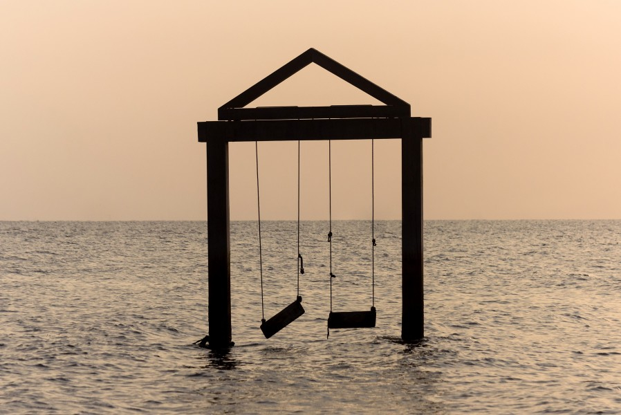 Swing at Duta Beach, Paiton, Probolinggo, East Java, 2017-09-14