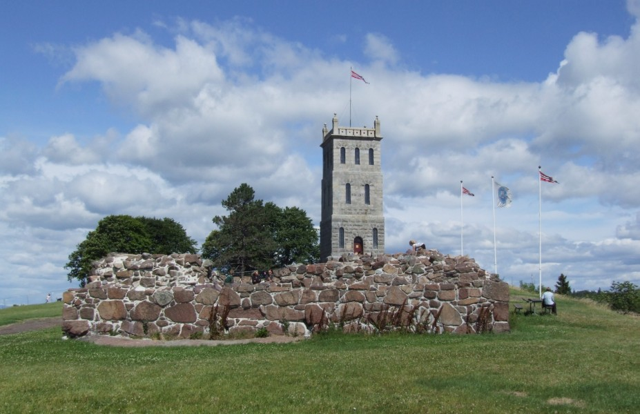 Tønsberg - tower and ruins