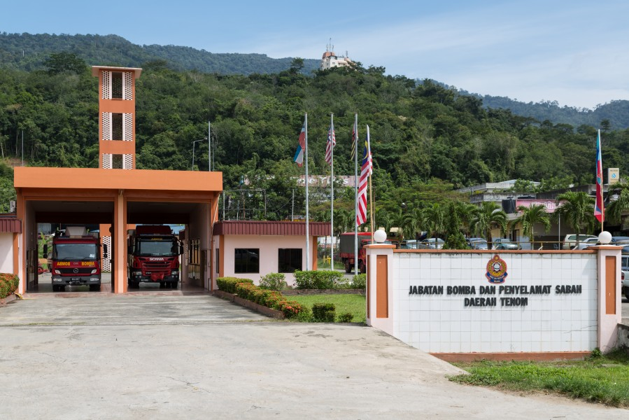 Tenom Sabah Fire-and-Rescue-Station-01
