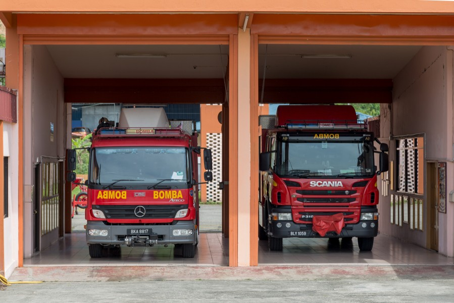 Tenom Sabah Fire-and-Rescue-Station-04