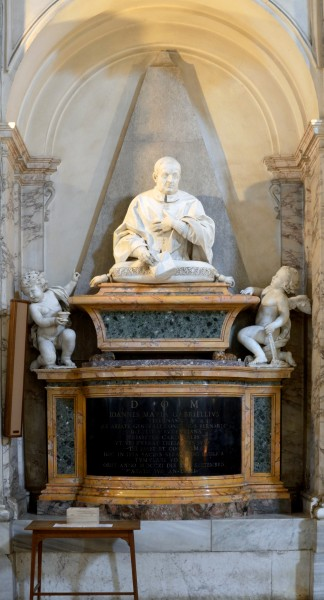 Tomb of Giovanni Maria Gabrielli in San Sebastian outside the walls