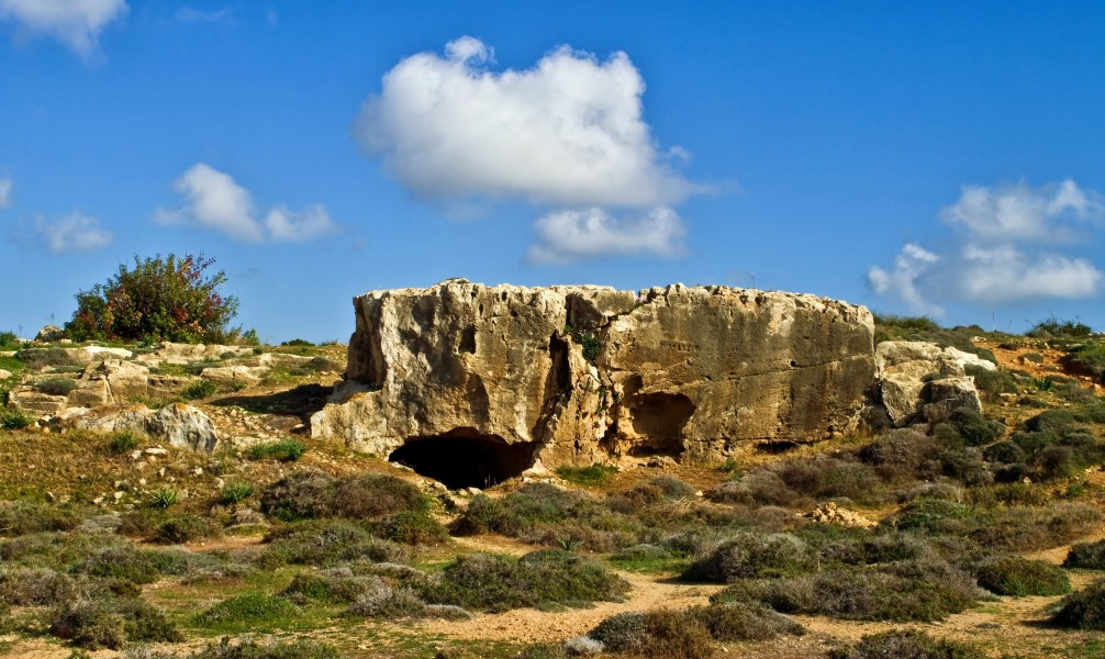 Tombs of the Kings Paphos Cyprus 17