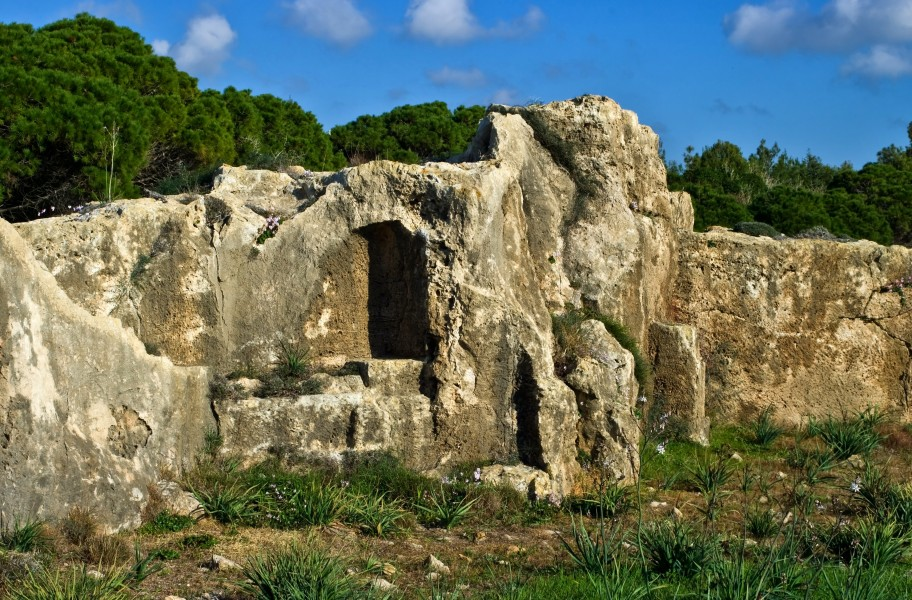 Tombs of the Kings Paphos Cyprus 33
