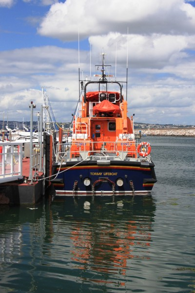 Torbay Lifeboat 17-28 Alec and Christina Dykes viewed from stern