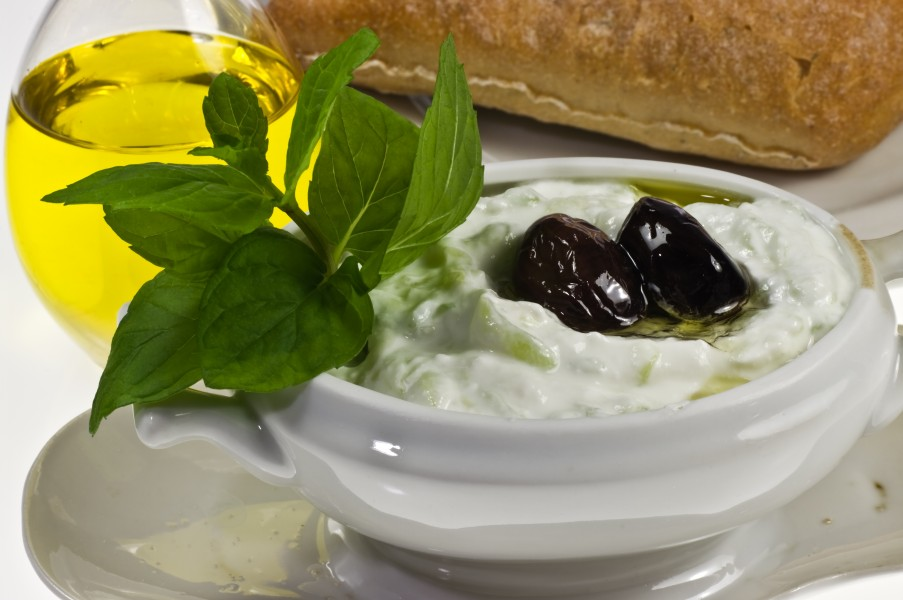 Tzatziki Greek meze or appetizer, also used as a sauce