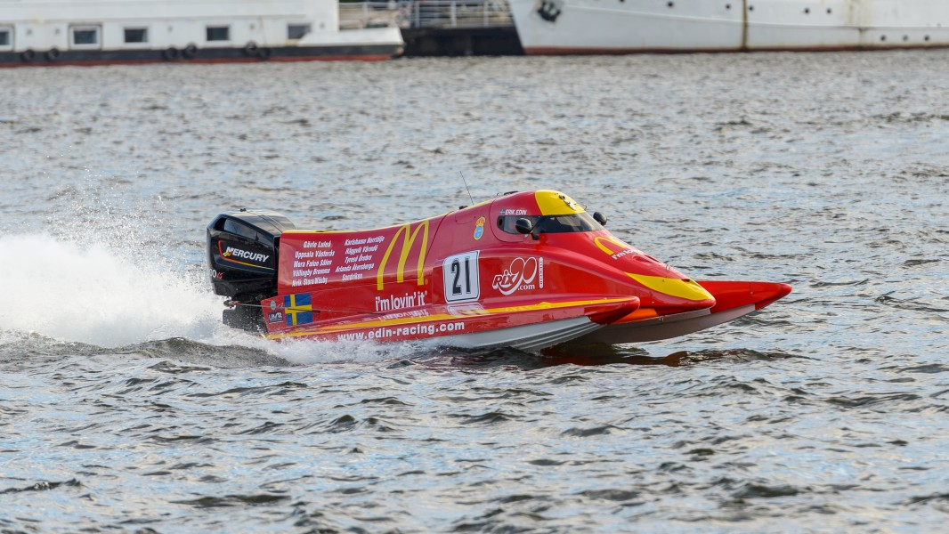 UIM F2 World Powerboat Championship Stockholm 2013