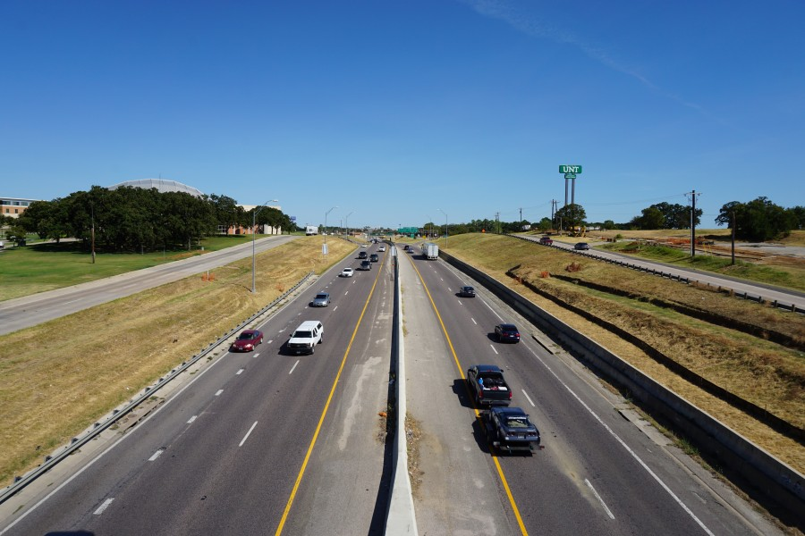 University of North Texas September 2015 42 (Interstate 35E)