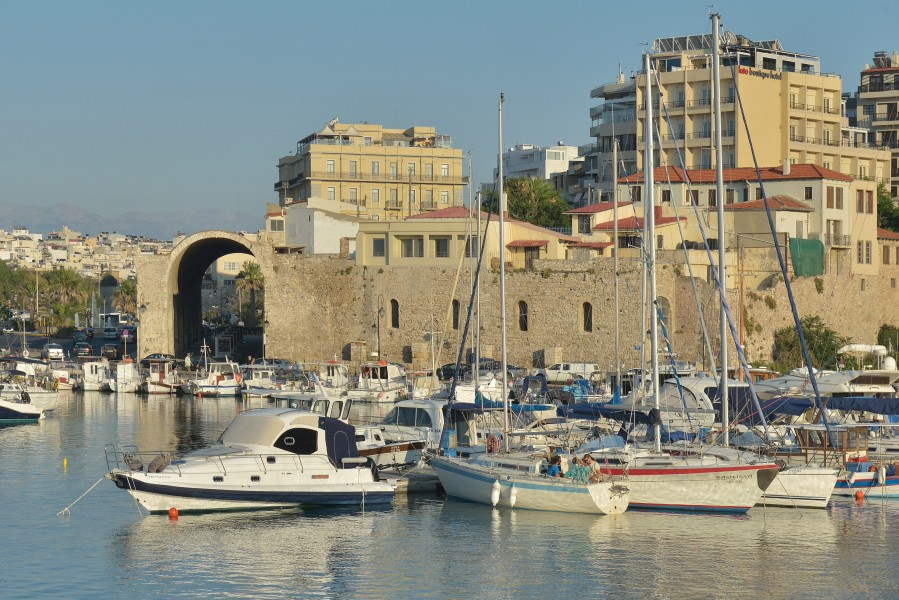 Venetian Arsenal in Heraklion Crete