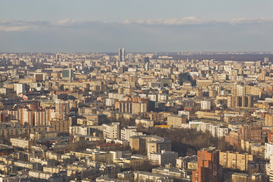 View from Imperia Tower Moscow 04-2014 img03