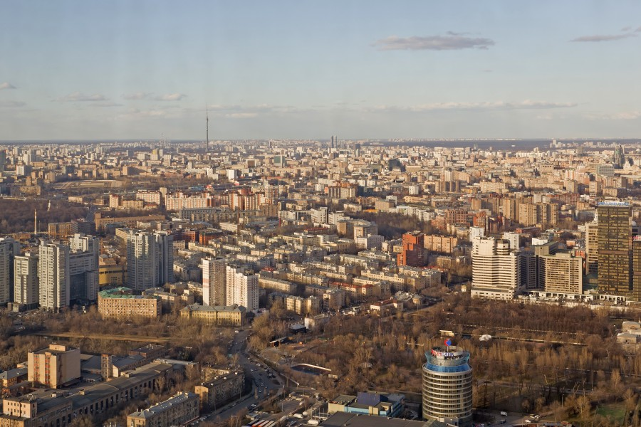 View from Imperia Tower Moscow 04-2014 img09