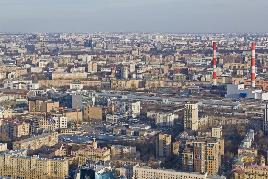 View from Imperia Tower Moscow 04-2014 img11