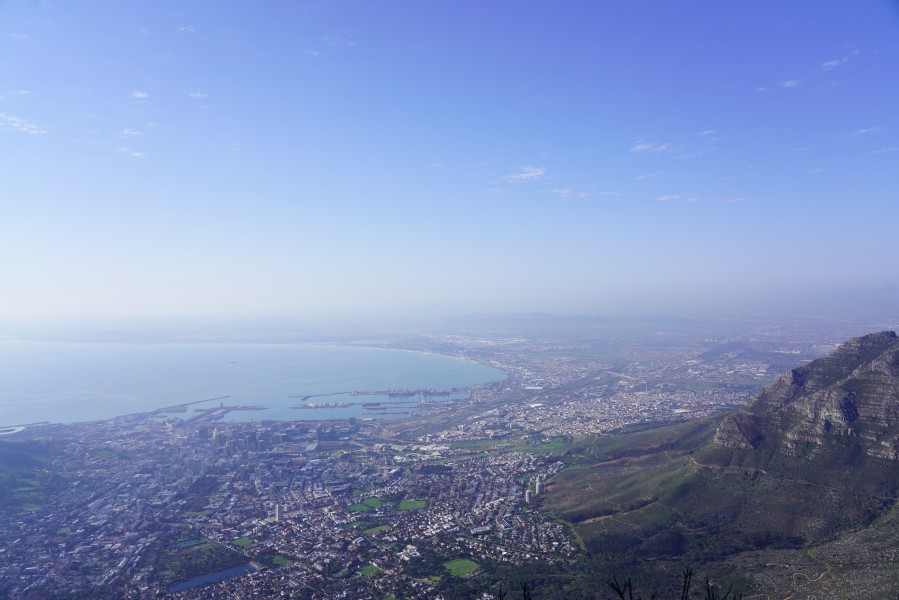 View from Table Mountain, Cape Town 01