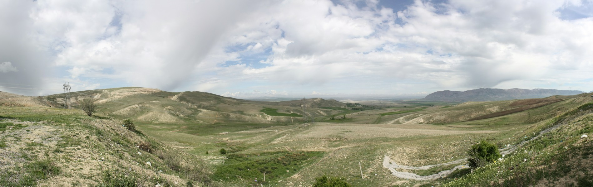 View from Yağdonduran Pass
