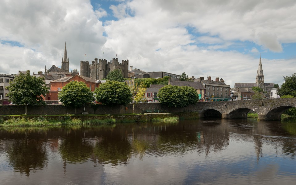View of Enniscorthy, as seen from Shannon Quay 20150806 1